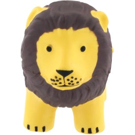 Lion Stress Reliever Branded with Your Logo