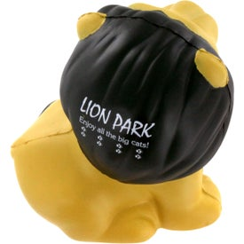 Custom Lion Stress Ball