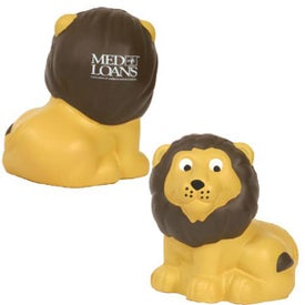 Branded Lion Stress Ball