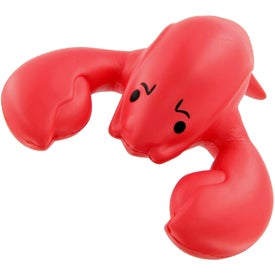 Branded Lobster Stress Toy