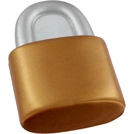 Monogrammed Lock Stress Reliever