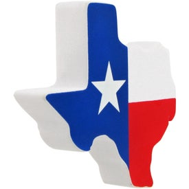 Lone Star State Stress Ball Branded with Your Logo