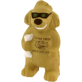 Lucky Dog Stress Reliever with Your Slogan