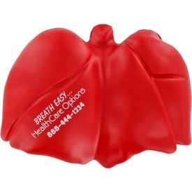 "Lung Stress Ball (3.75"" x 2.75"" x 1.5"")"