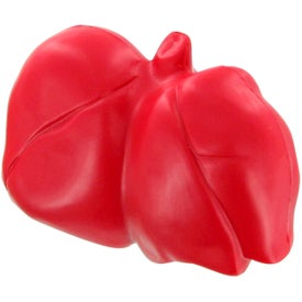 Lungs Stress Toy with Your Slogan