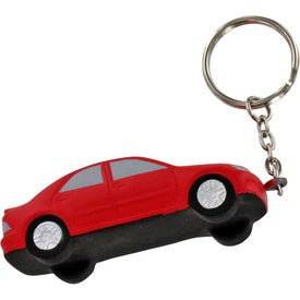 Luxury Car Stress Ball Key Chain for Marketing