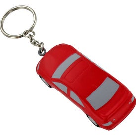 Luxury Car Stress Ball Key Chain with Your Slogan