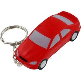Logo Luxury Car Stress Ball Key Chain