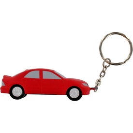 Luxury Car Stress Ball Key Chain Branded with Your Logo