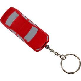 Promotional Luxury Car Stress Ball Key Chain