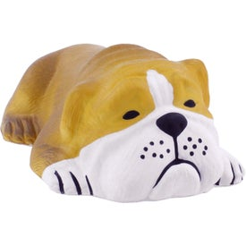 Branded Lying Down Dog Stress Reliever
