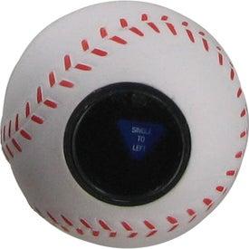 Logo Magic Answer Baseball Stress Ball