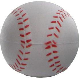 Monogrammed Magic Answer Baseball Stress Ball