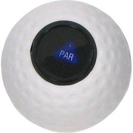 Monogrammed Magic Golf Ball Stress Ball