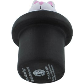 Imprinted Magic Rabbit Stress Reliever