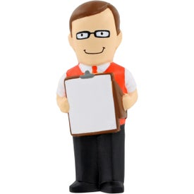 Male Teacher Stress Ball for Marketing