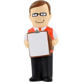 Male Teacher Stress Ball for Marketing