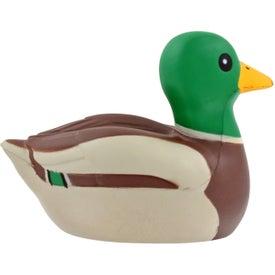 Branded Mallard Duck Stress Ball