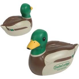 Monogrammed Mallard Duck Stress Ball
