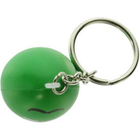 Personalized Mood Maniac Stress Ball Key Chain