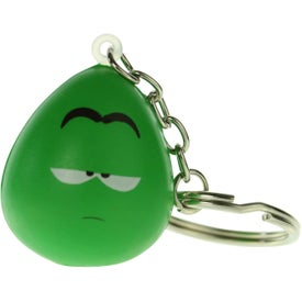 Mood Maniac Stress Ball Key Chain (Apathetic)