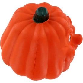 Branded Maniacal Pumpkin Stress Ball