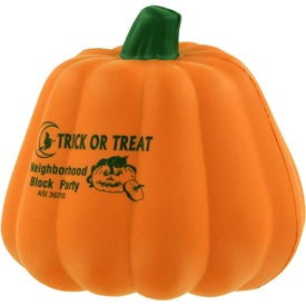 Maniacal Pumpkin Stress Ball for Customization