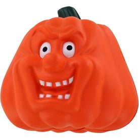 Printed Maniacal Pumpkin Stress Ball