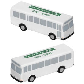 Printed Metro Bus Stress Ball