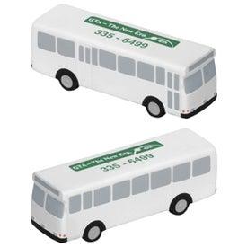 Printed Metro Bus Stress Ball