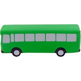 Metro Bus Stress Toy for Customization