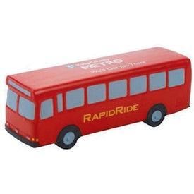 Custom Metro Bus Stress Toy