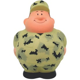 Advertising Military Bert Stress Reliever