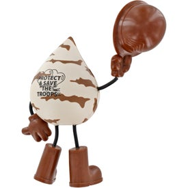 Customized Military Figure Stress Ball