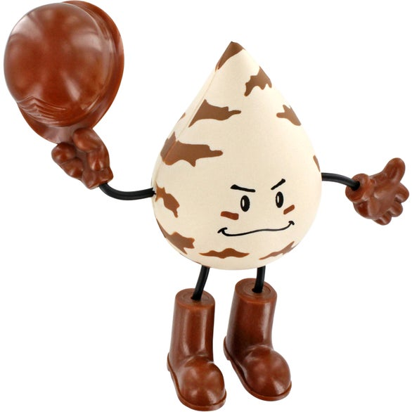 Military Figure Stress Ball