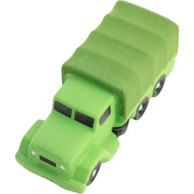 Logo Military Transport Truck Stress Reliever