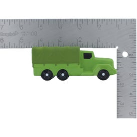 Advertising Military Transport Truck Stress Reliever