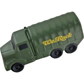 Personalized Military Truck Stress Ball