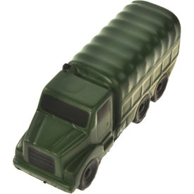 Printed Military Truck Stress Ball