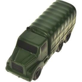 Printed Military Truck Stress Ball