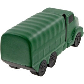 Military Truck Stress Toy Printed with Your Logo