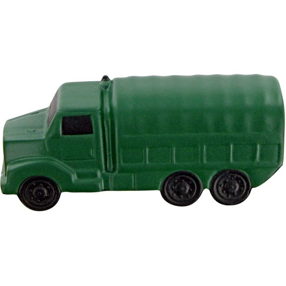 Green Military Truck Stress Toy