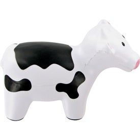 Milk Cow Stress Toy Branded with Your Logo