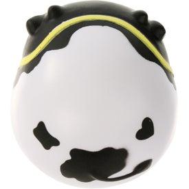 Imprinted Milk Cow Wobbler Stress Ball