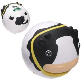 Branded Milk Cow Wobbler Stress Ball