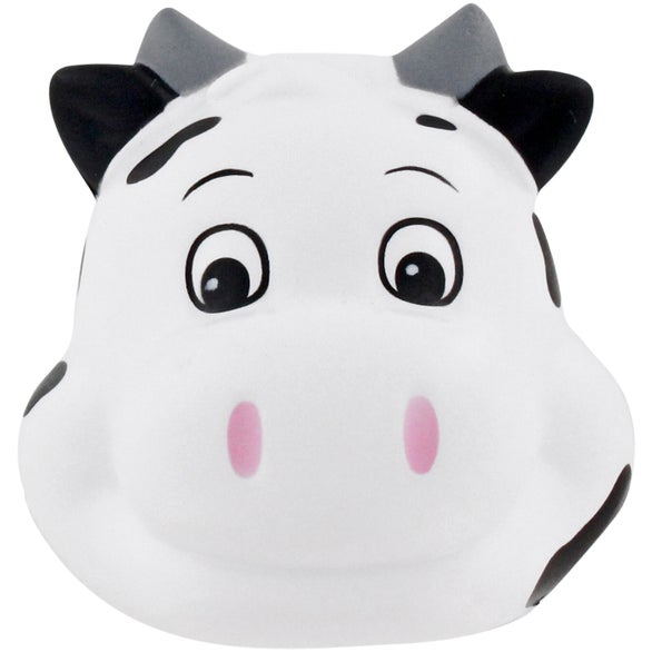 Milk Cow Funny Face Stress Ball