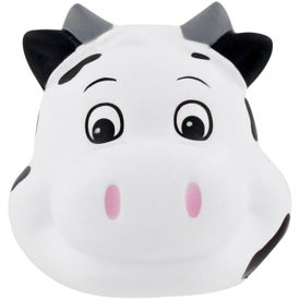 Milk Cow Funny Face Stress Ball