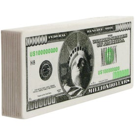 Million Dollar Bill Stress Ball for Your Company
