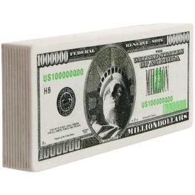 Million Dollar Bill Stress Ball for Your Company