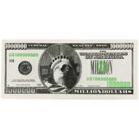 Logo Million Dollar Bill Stress Ball